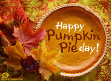Happy Pumpkin Pie Day