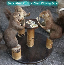 December 28th Card Playing Day