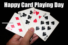 Happy Card Playing Day