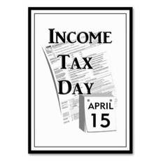 Income tax day april 15
