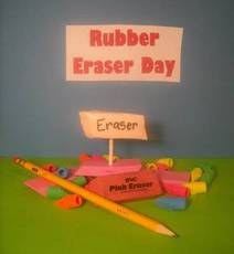 Rubber Eraser Day