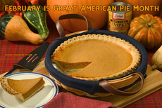 February is Great American Pie Month