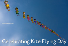 Celebrating Kite Flying Day