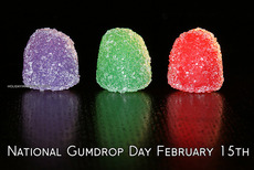 National Gumdrop Day February 15th