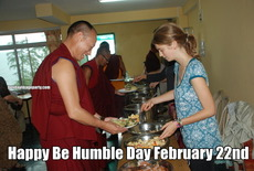 Happy Be Humble Day February 22nd