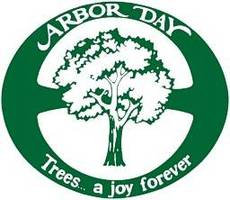 Arbor Day. Trees a joy forever