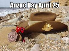 Anzac Day April 25