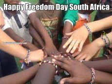 Happy Freedom Day South Africa