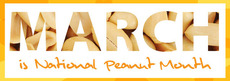 March is National Peanut Month
