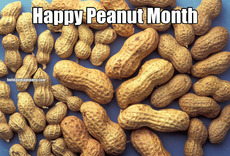Happy Peanut Month