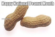 Happy National Peanut Month