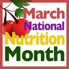 March National Nutrition Month