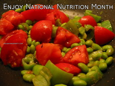 Enjoy National Nutrition Month