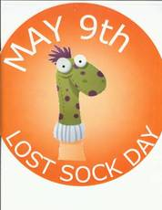 May 9th Lost Sock Day