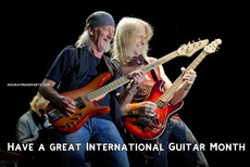 Have a great International Guitar Month