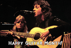 Happy Guitar Month!