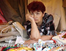 Happy Blah Blah Blah Day