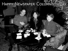 Happy Newspaper Columnists Day