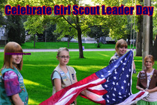 Celebrate Girl Scout Leader Day