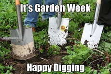 It's Garden Week Happy Digging