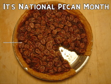 It's National Pecan Month
