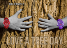 16th of March is Love a tree day