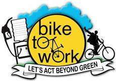Bike to work. Let's act beyond green