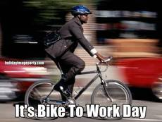It's Bike To Work Day