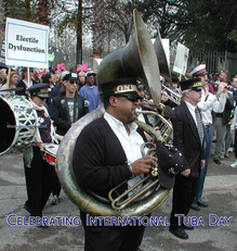 Celebrating International Tuba Day