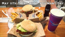 May 11th is Eat What You Want Day