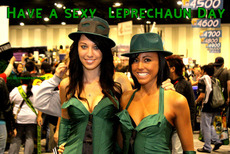 Have a sexy  Leprechaun Day