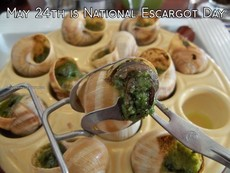 May 24th is National Escargot Day