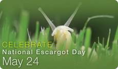 Celebrate National Escargot Day May 24