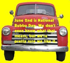 June 2 is National Bubba Day