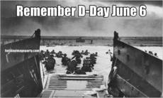 Remember D-Day June 6