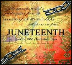 Juneteenth  June 19 1865