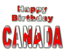 Happy Birthday Canada Day