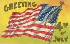 Greeting 4th of July