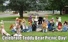 Celebrate Teddy Bear Picnic Day!