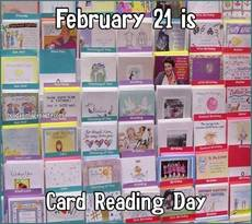 February 21 is Card Reading Day
