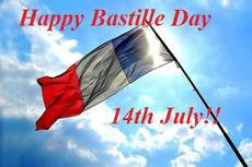 Happy Bastille Day 14th July!!