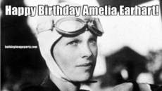 Happy Birthday Amelia Earhart!