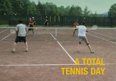 A Total Tennis Day