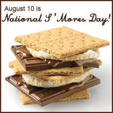 August 10 is National S'mores Day
