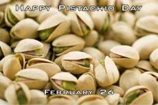 Happy Pistachio Day  February 26