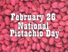 February 26 National Pistachio Day