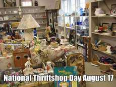 National Thriftshop Day August 17