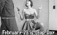 February 29 is Leap Day