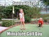 Category Miniature Golf Day