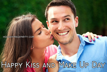 Happy Kiss and Make Up Day
